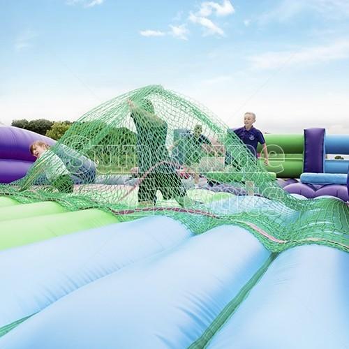 Assault Course Scramble Net Inflatable Hire