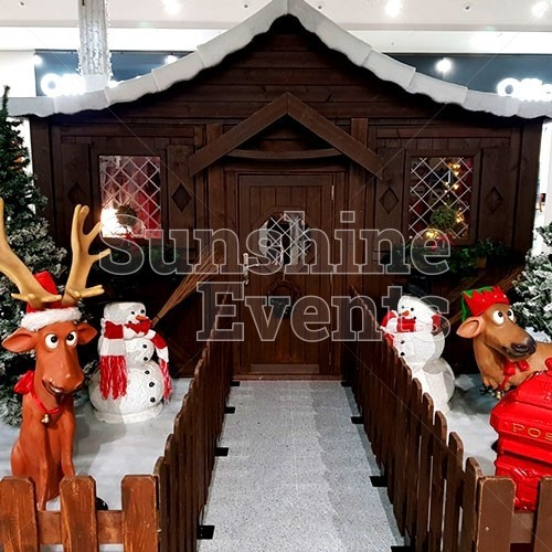 Santa's Christmas Grotto Hire in Preston