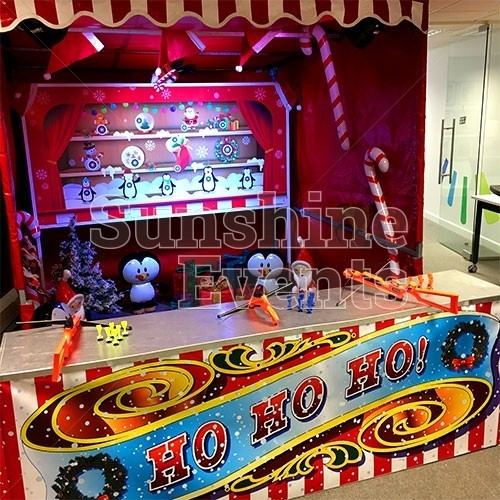 Christmas Funfair Target Stall Hire