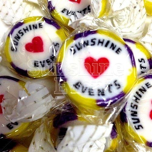 Personalised Rock and Sweets