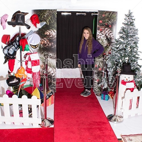 Photo Booth Hire with Christmas Theming Hire