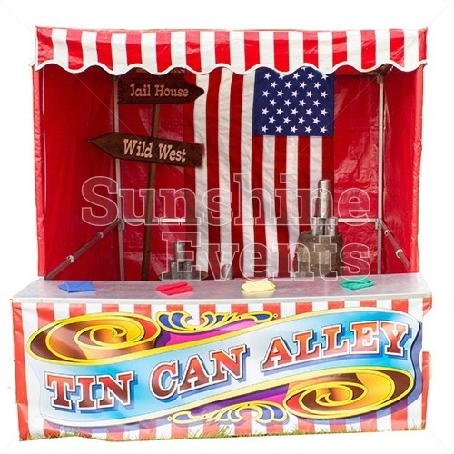 Tin Can Alley Stall Hire