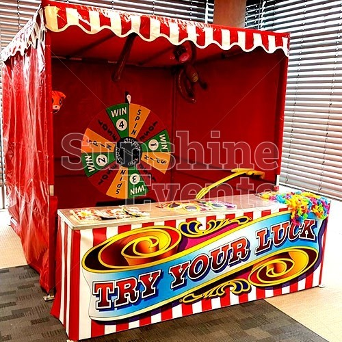 Spin the Wheel Stall Hire