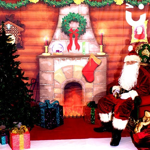 Interior of the Meet and Greet Grotto