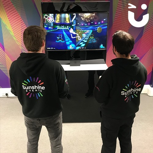 Nintendo Switch Hire with our Two Fun Experts