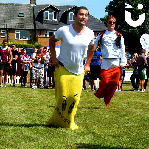 sports day activities sack race