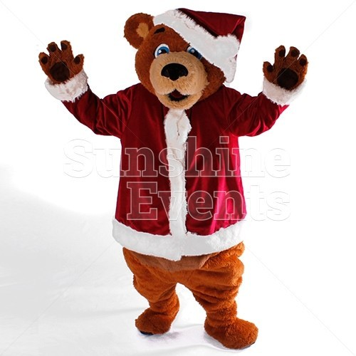 Santa Bear Walkabout Character Hire