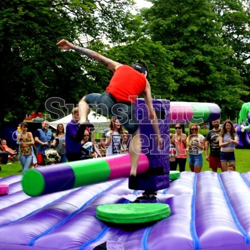 Inflatable Challenges Hire