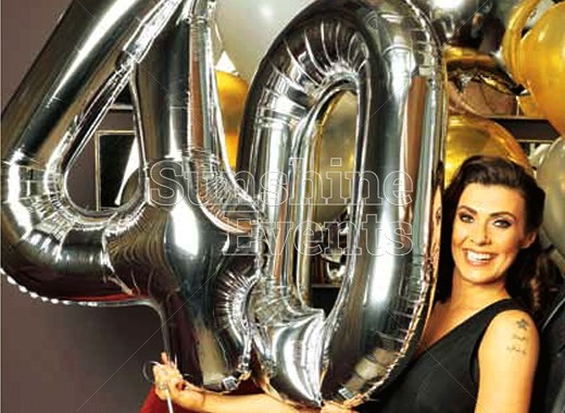 PRIVATE PARTY FOR KYM MARSH'S 40TH BIRTHDAY