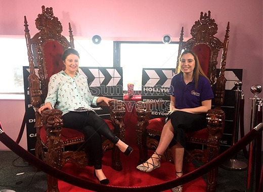 FILMING EVENT FOR LANCASHIRE TV