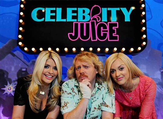 FILMING EVENT FOR ITV'S CELEBRITY JUICE