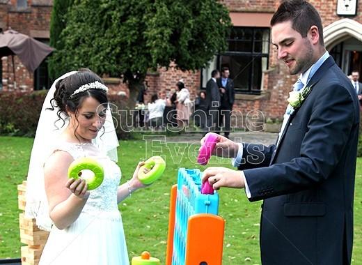 WEDDING ENTERTAINMENT AT THE CRAB WALL MANOR