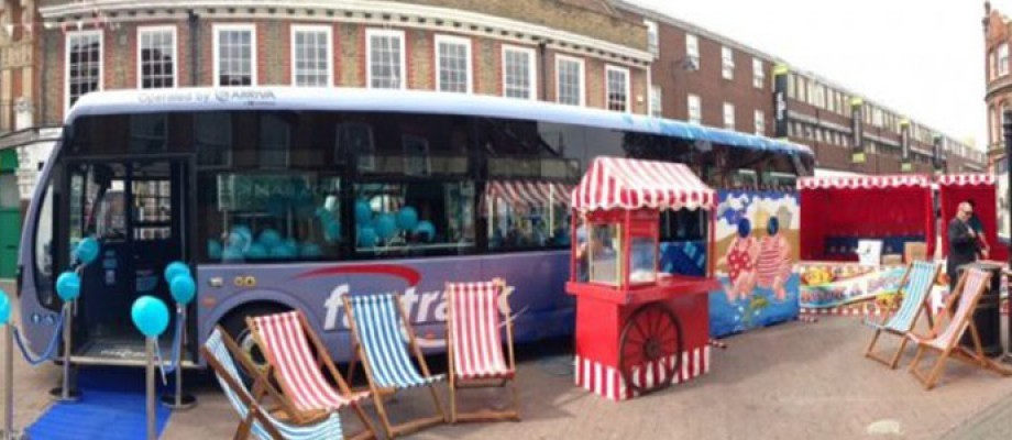 All Aboard! The Fun Experts Help Arriva UK Bus Celebrate £3m Investment