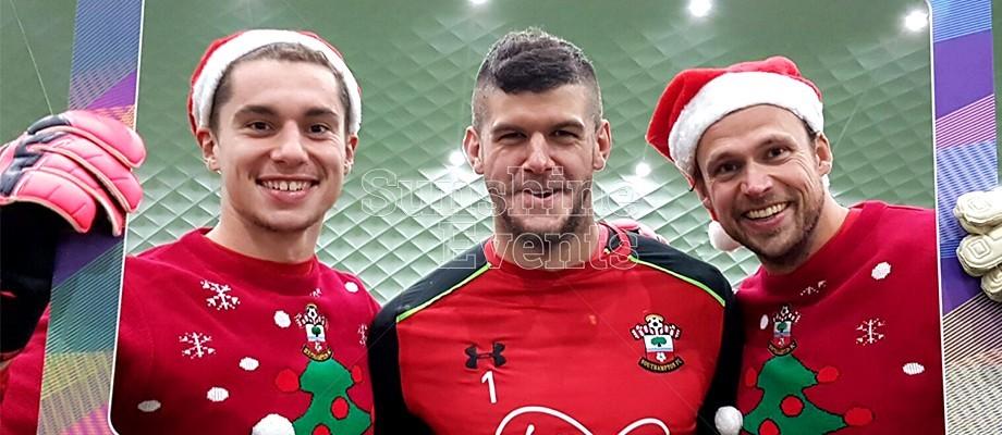Rocking around the Christmas tree with Southampton FC!