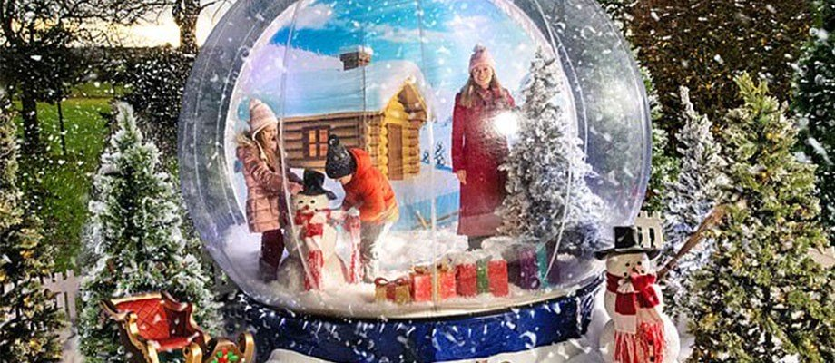 The Giant Snow Globe and the 5 Star Review