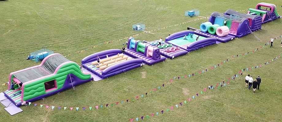 HEALTHY LIFESTYLE WEEK: INFLATABLES + FUN = HEALTHY LIVING