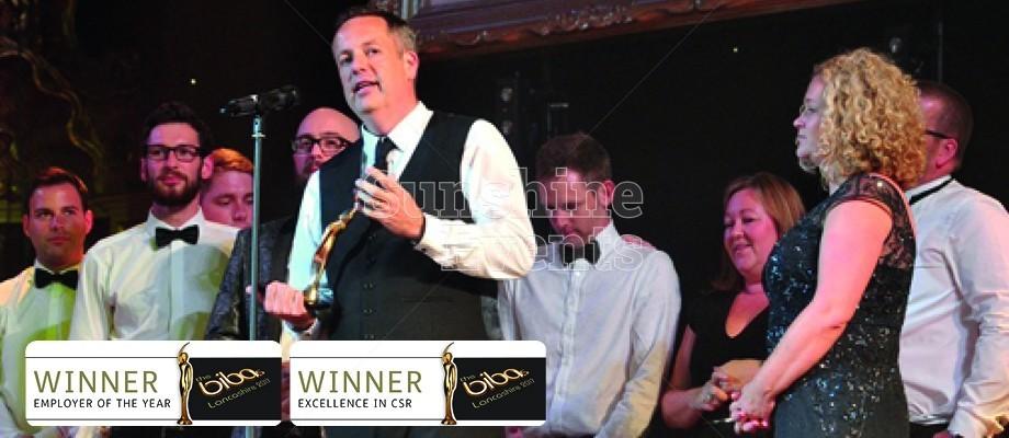 Sunshine Events Scoops 2 BIBA Awards