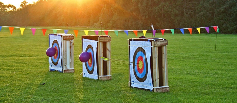 The Fun Experts become accredited Archery Instructors - horray!