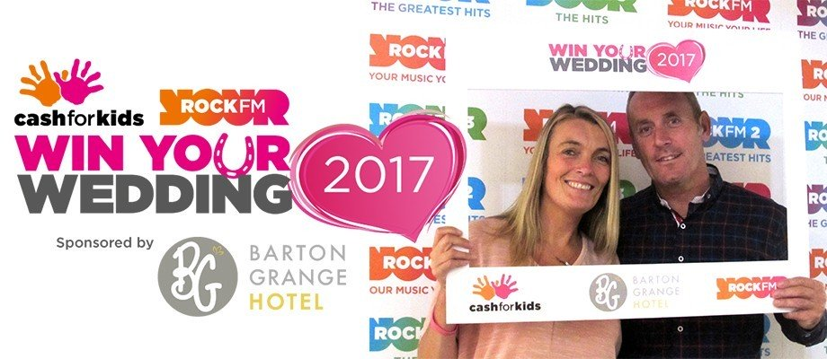 Rock FM win your wedding competition winners announced!