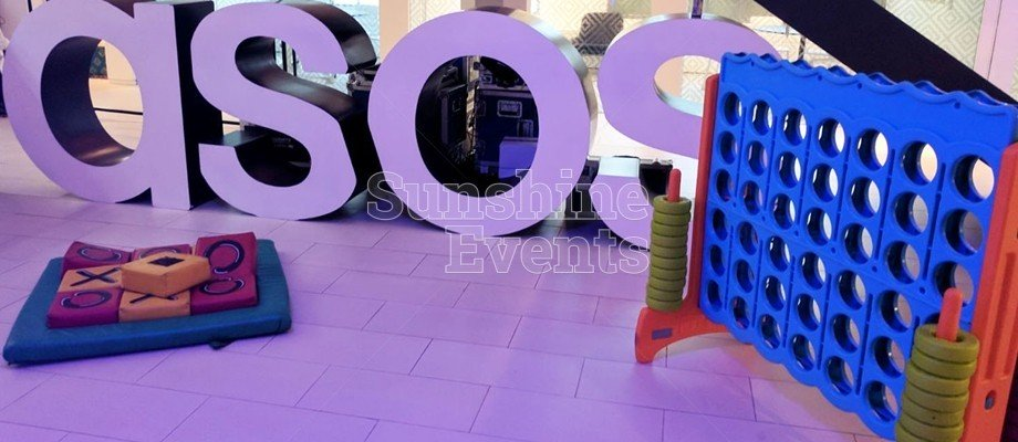 A CORPORATE FUN DAY EVENT FOR ASOS